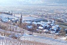 Inverno sulla Strada del Vino